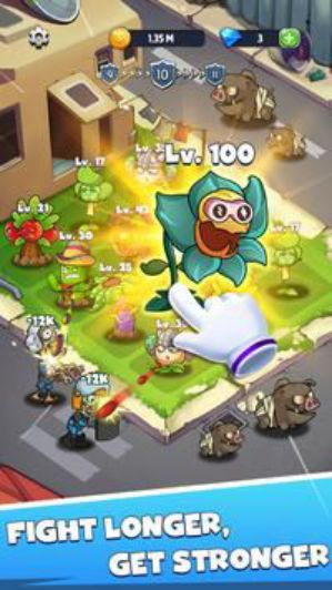 Merge Plants: Zombie Defense [Mod] – Vô Hạn Kim Cương