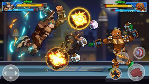 Robot Super: Hero Champions [Mod] – Mở Khóa