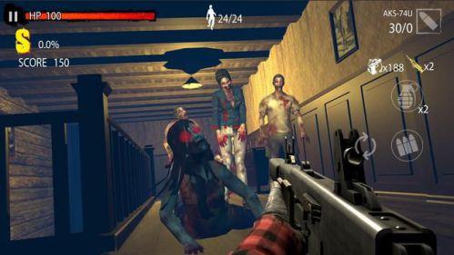 Zombie Hunter D-Day [Mod] – 1 HIT, Bất Tử