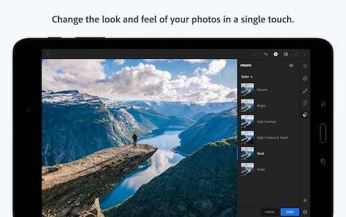 Adobe Lightroom [Mod] – Mở Khóa Premium