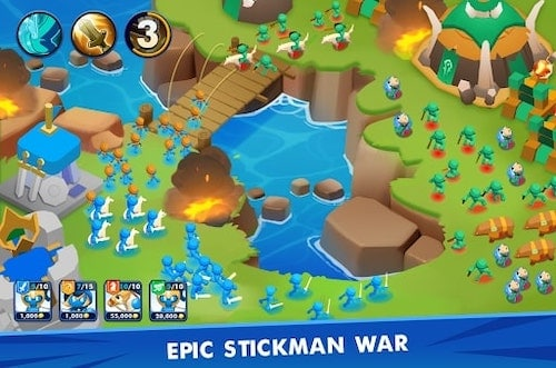 Clash of Stickman [Mod] – Mua Sắm