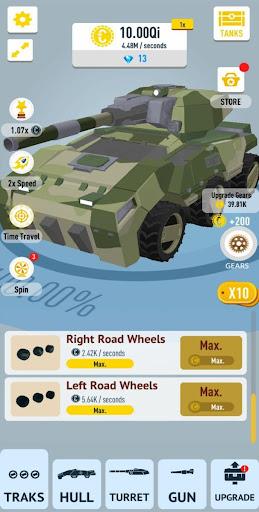 Idle Tanks 3D [Mod] – Vô Hạn Tiền
