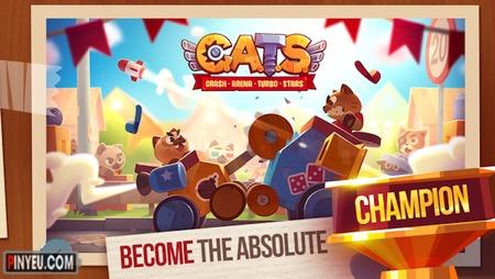 CATS: Crash Arena Turbo Stars [Mod] – God Mode