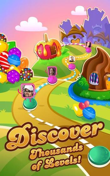 Candy Crush Saga [Mod] – Mở Khóa Tất Cả Cấp Độ