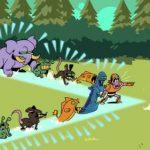 Idle Monster Frontier [Mod] - Vô Hạn Vàng, Đá Quý